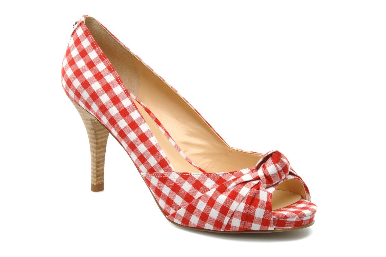 Varsha Red/white