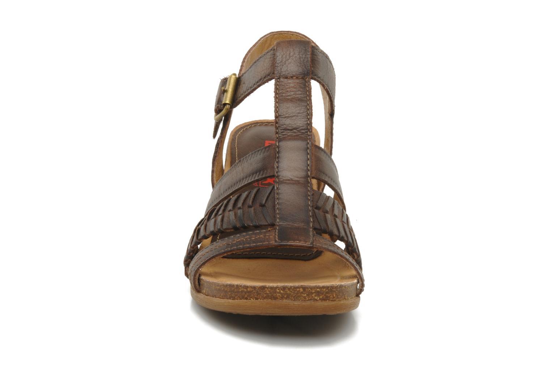 Sandalen Pikolinos Moraira 8907f braun schuhe getragen