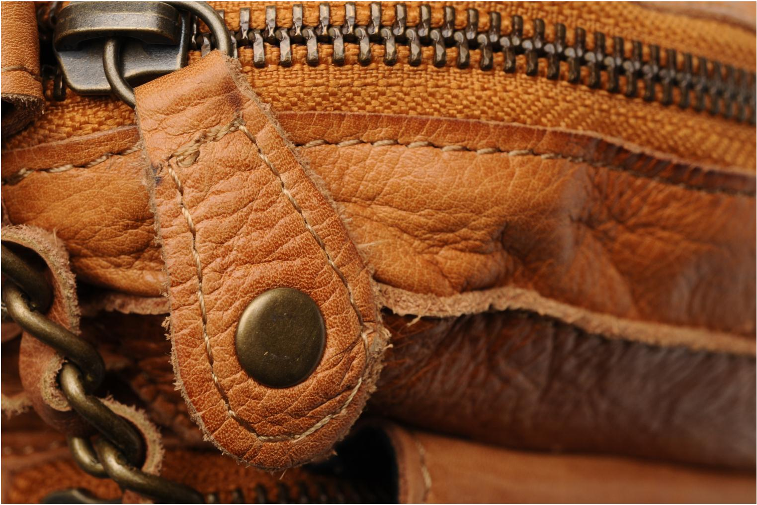 Naina Leather Crossover Cognac