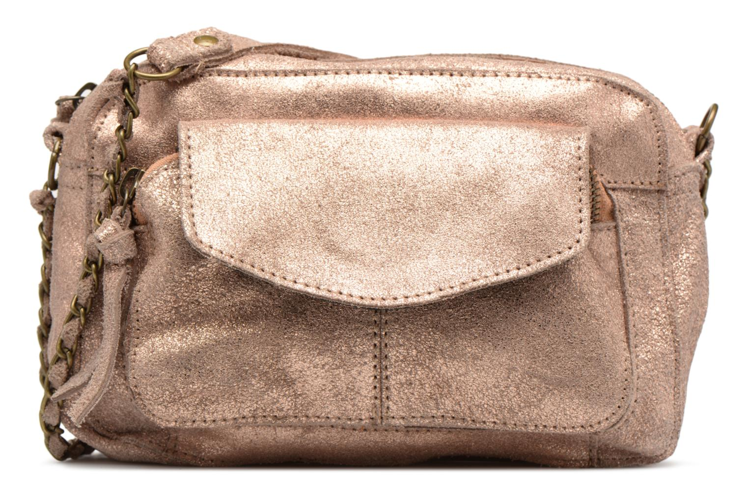 Naina Leather Crossover Pale blush