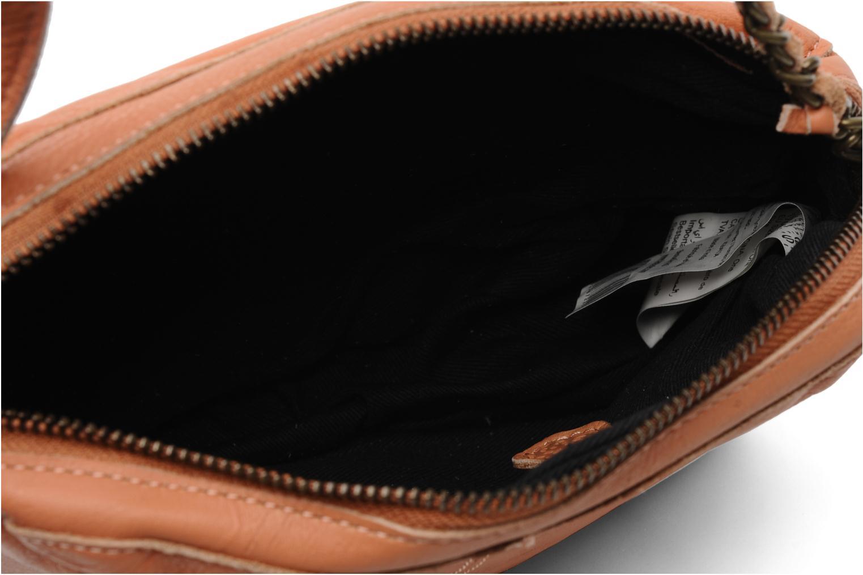 Sacs pochettes Pieces Naina Leather Crossover Orange vue derrière