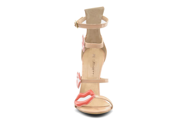 Sandalen Paul & Betty PrettyLips bis beige schuhe getragen