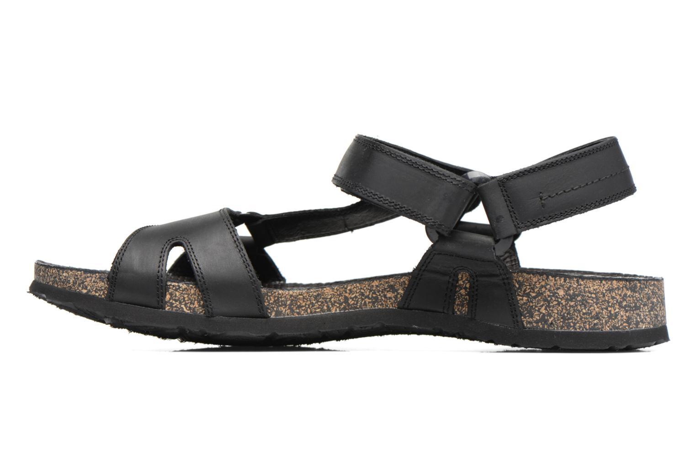 Sandales et nu-pieds Panama Jack Frodo Noir vue face