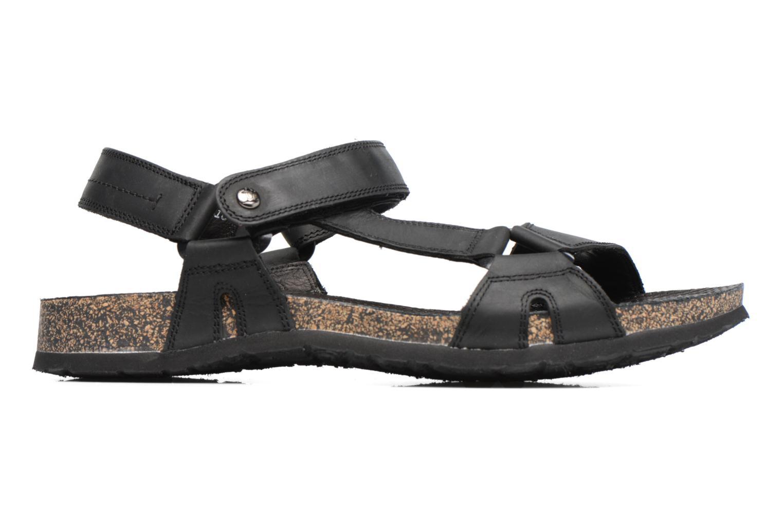Sandales et nu-pieds Panama Jack Frodo Noir vue derrière