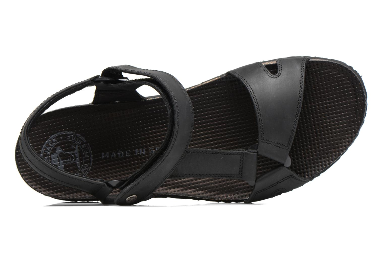 Sandales et nu-pieds Panama Jack Frodo Noir vue gauche