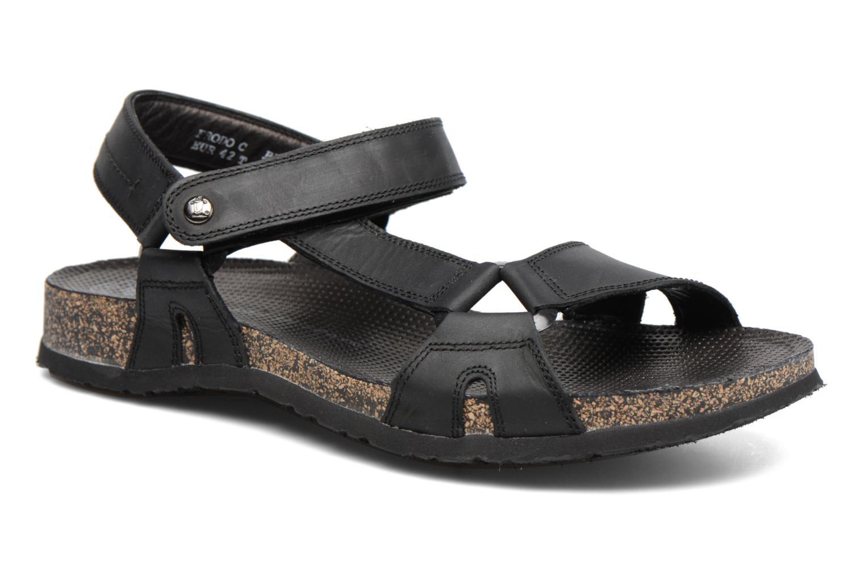 Sandales et nu-pieds Panama Jack Frodo Noir vue détail/paire
