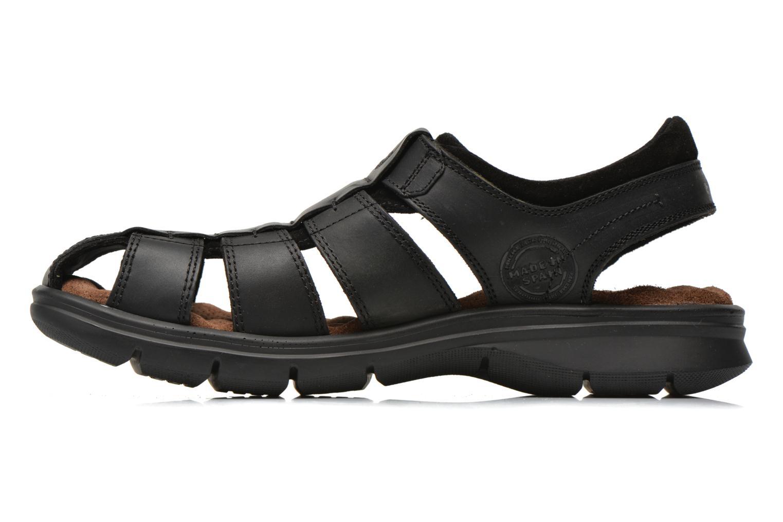 Sandalen Panama Jack Sherpa Zwart voorkant