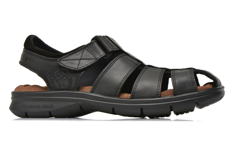 Sandalen Panama Jack Sherpa Zwart achterkant
