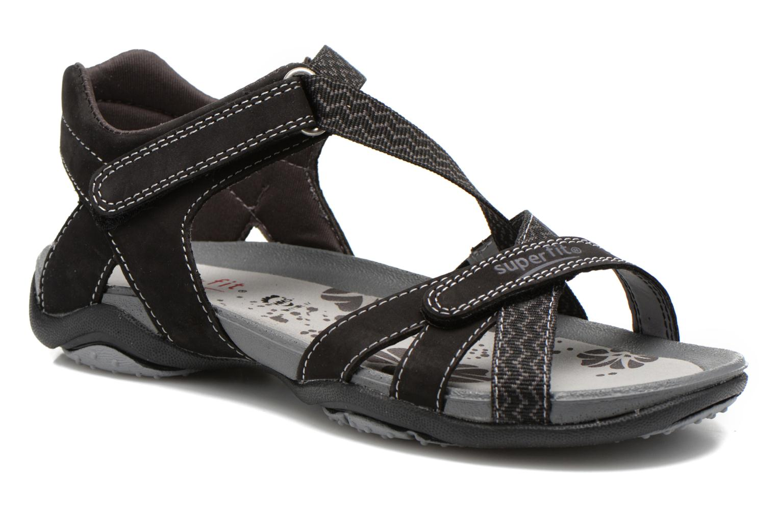 Sandalen Superfit Nancy Zwart detail