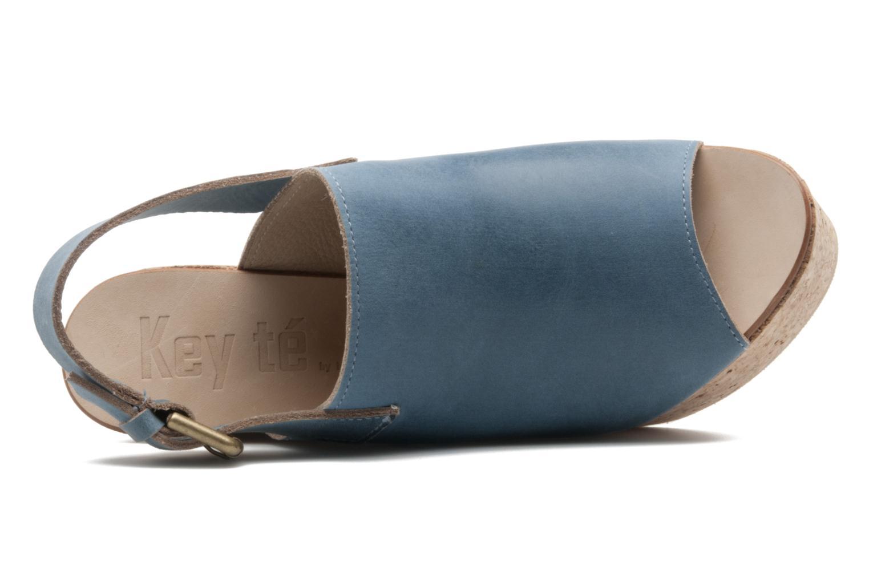 Sandalen Kéy Té By Kallisté Koto blau ansicht von links