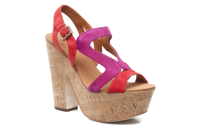 Sandales et nu-pieds Ash Hysteria Sandale Rose vue détail/paire