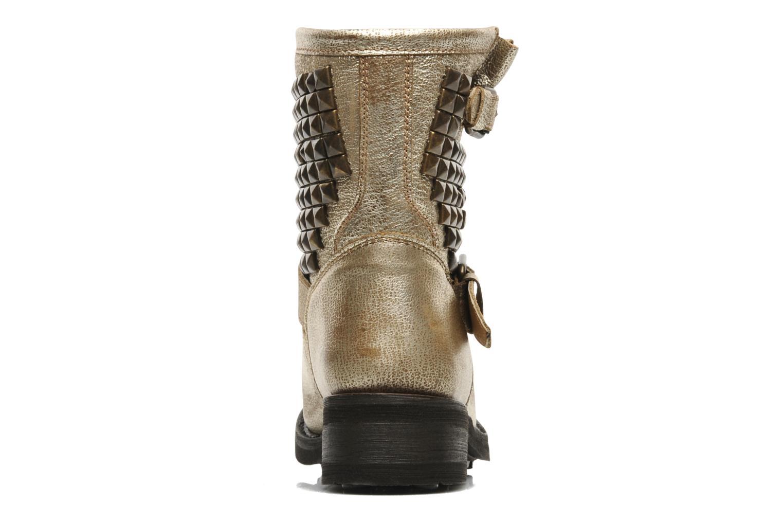 Boots en enkellaarsjes Ash Titan Goud en brons rechts