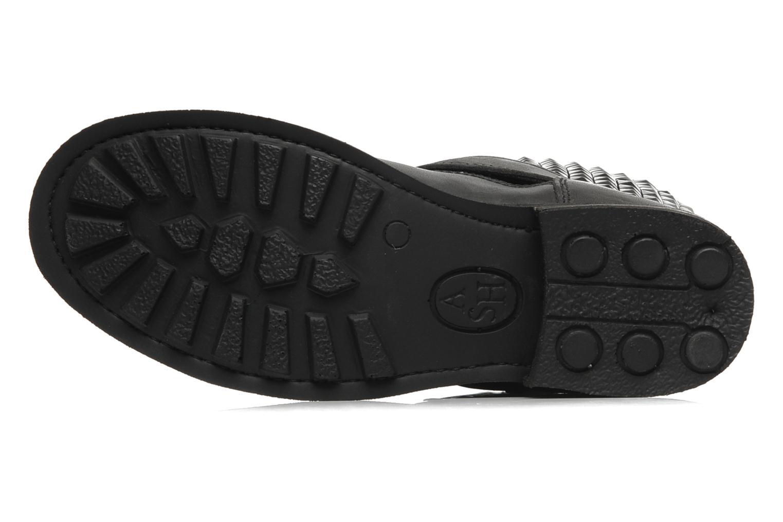 Bottines et boots Ash Titan Noir vue haut