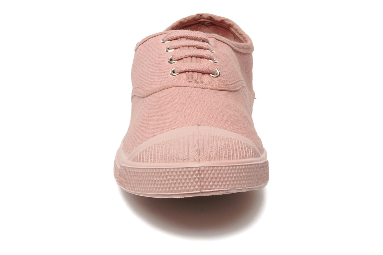 Baskets Bensimon Tennis Colorsole Rose vue portées chaussures
