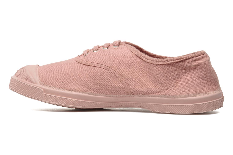 Sneaker Bensimon Tennis Colorsole rosa ansicht von vorne