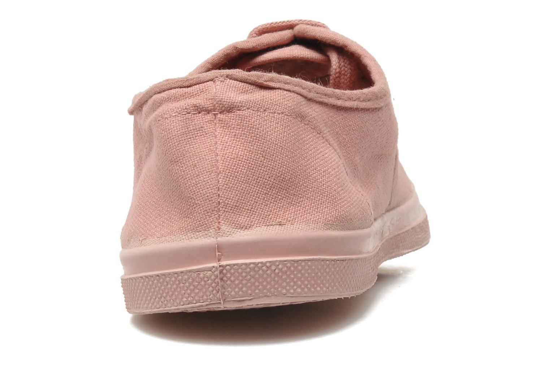 Sneaker Bensimon Tennis Colorsole rosa ansicht von rechts