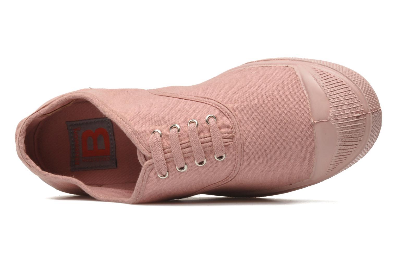 Sneaker Bensimon Tennis Colorsole rosa ansicht von links
