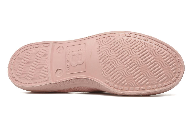 Sneaker Bensimon Tennis Colorsole rosa ansicht von oben
