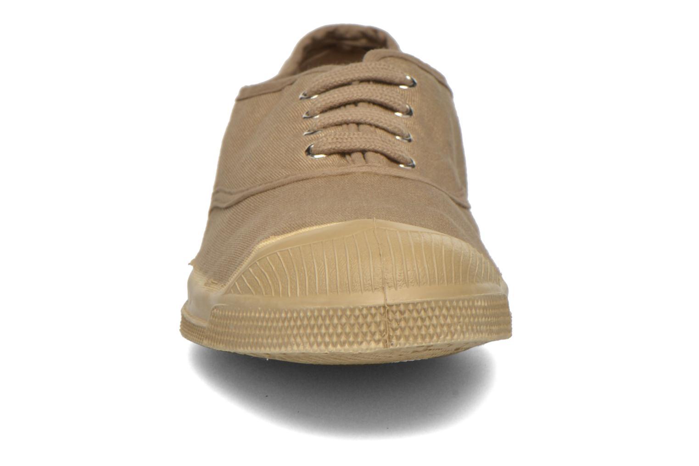 Baskets Bensimon Tennis Colorsole Beige vue portées chaussures