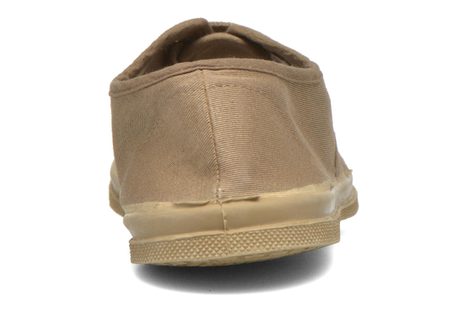 Trainers Bensimon Tennis Colorsole Beige view from the right
