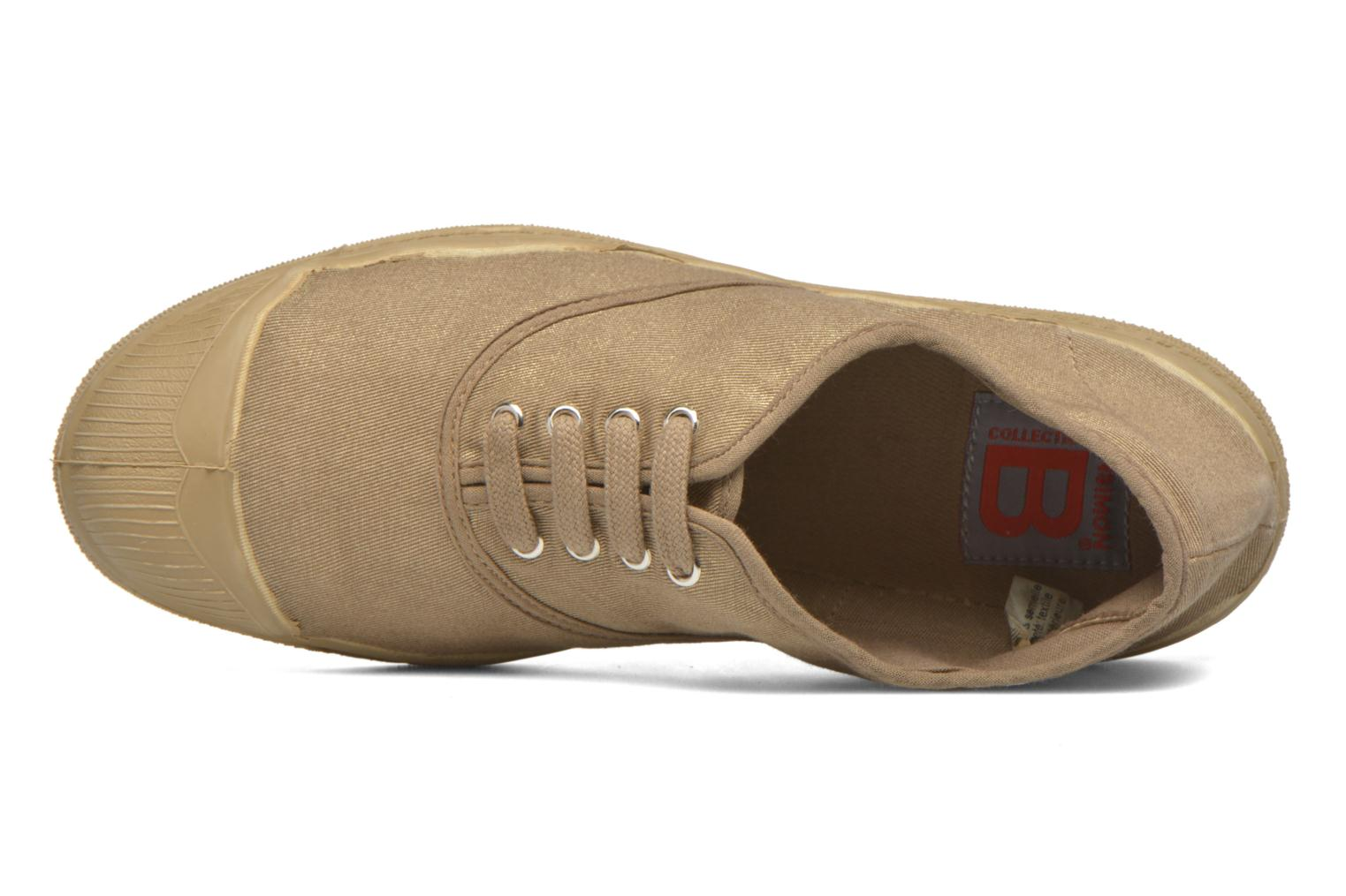 Trainers Bensimon Tennis Colorsole Beige view from the left