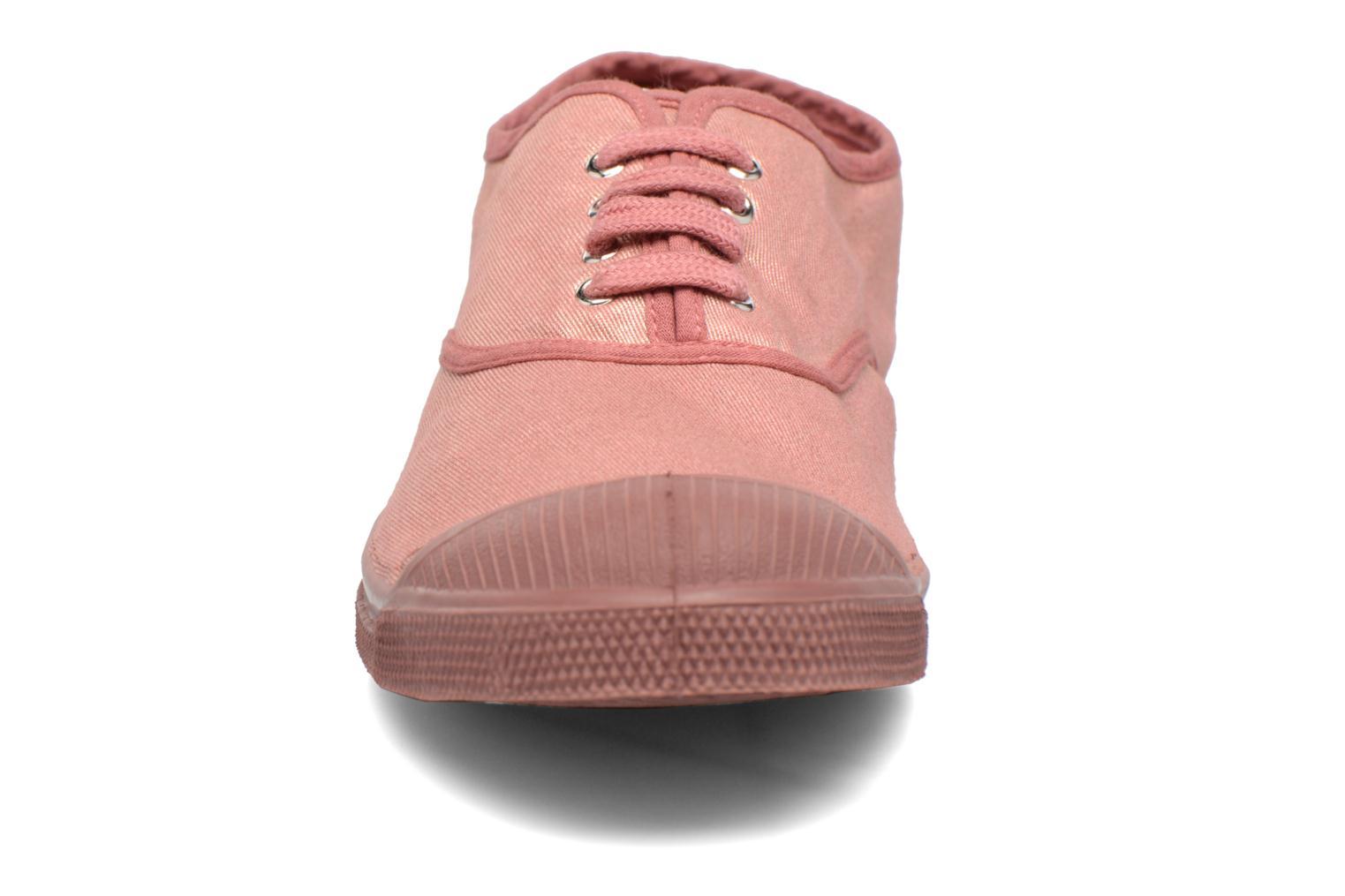 Trainers Bensimon Tennis Colorsole Pink model view