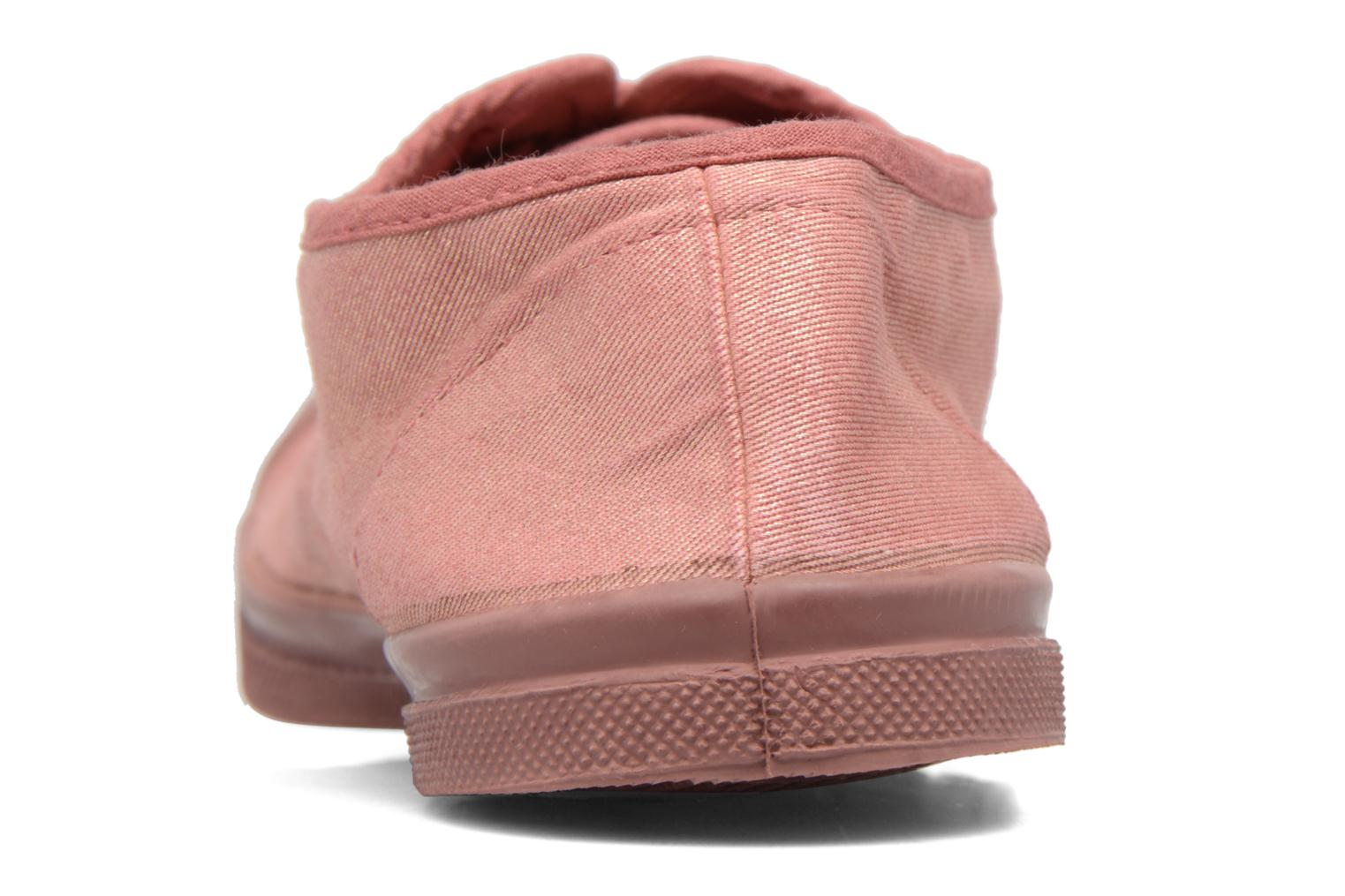 Trainers Bensimon Tennis Colorsole Pink view from the right