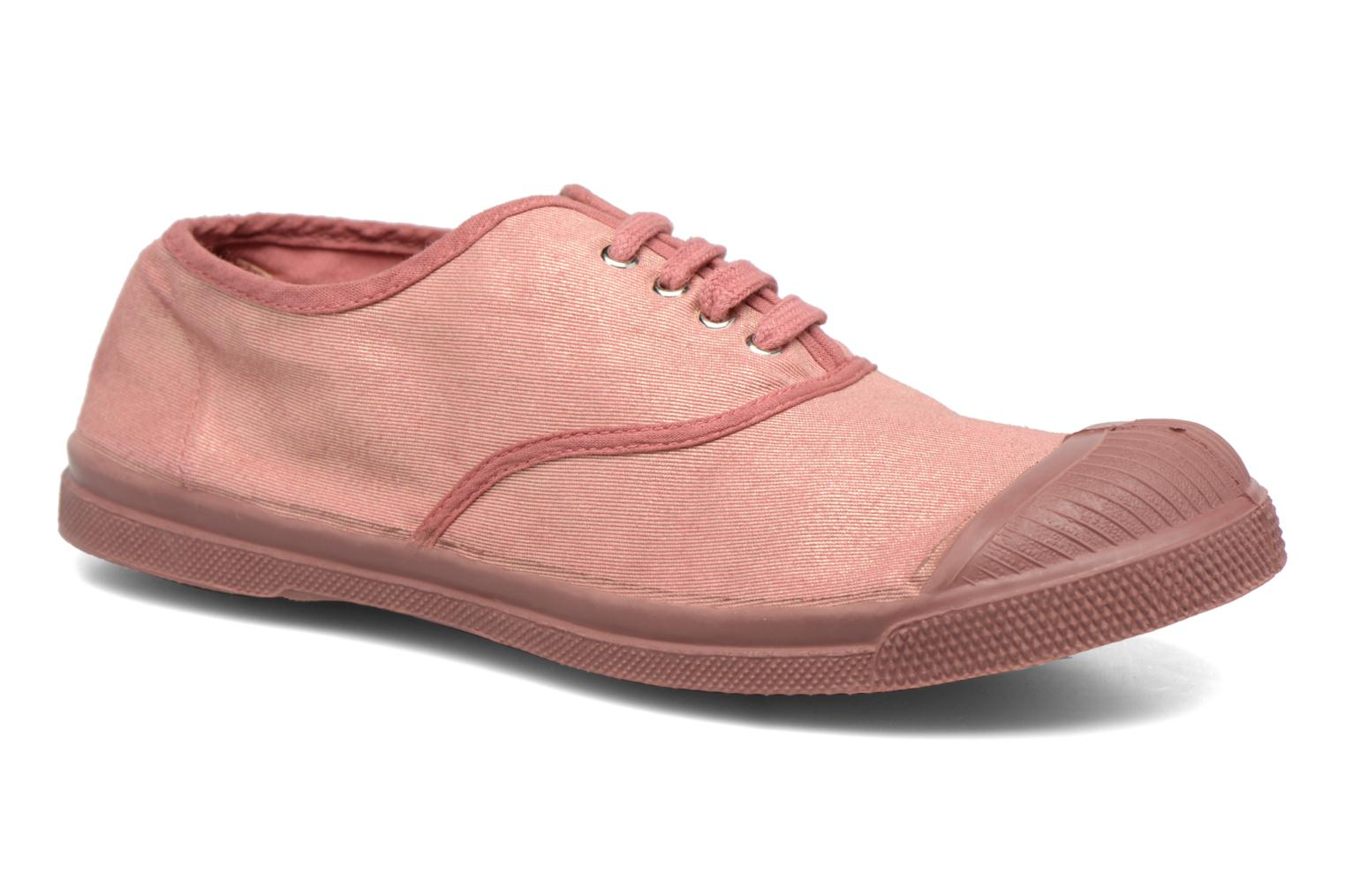 Trainers Bensimon Tennis Colorsole Pink detailed view/ Pair view