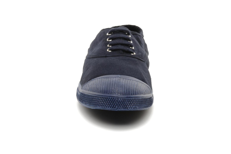 Baskets Bensimon Tennis Colorsole H Bleu vue portées chaussures