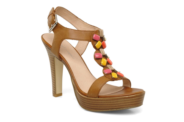 Sandales et nu-pieds Mellow Yellow Labeille Marron vue détail/paire