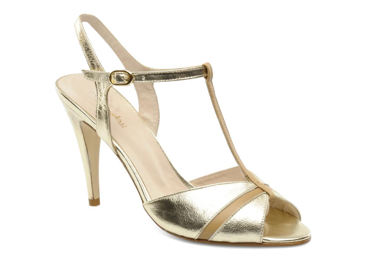 Sandalias Mellow Yellow Labyod Oro y bronce vista de detalle / par