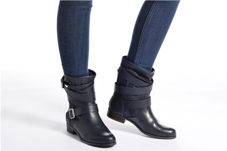 Bottines et boots Mellow Yellow Badilla Marron vue bas / vue portée sac