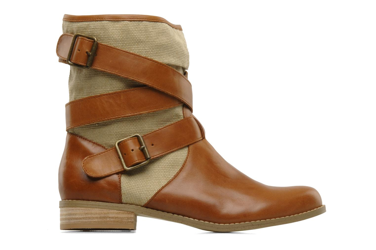 Ankle boots Mellow Yellow Badilla Brown back view