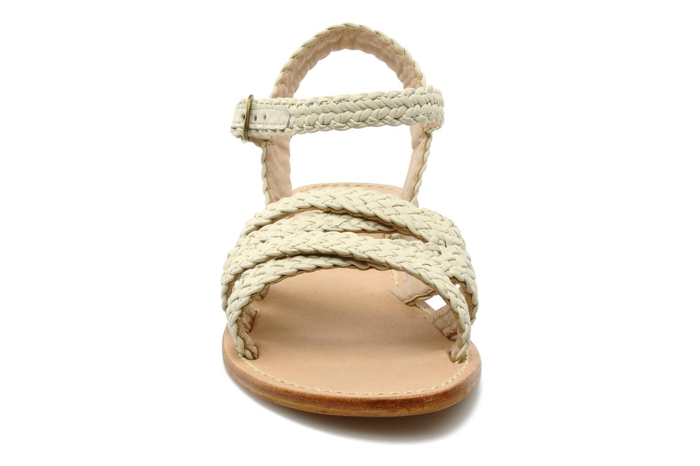 Sandales et nu-pieds Mellow Yellow Langlette Beige vue portées chaussures