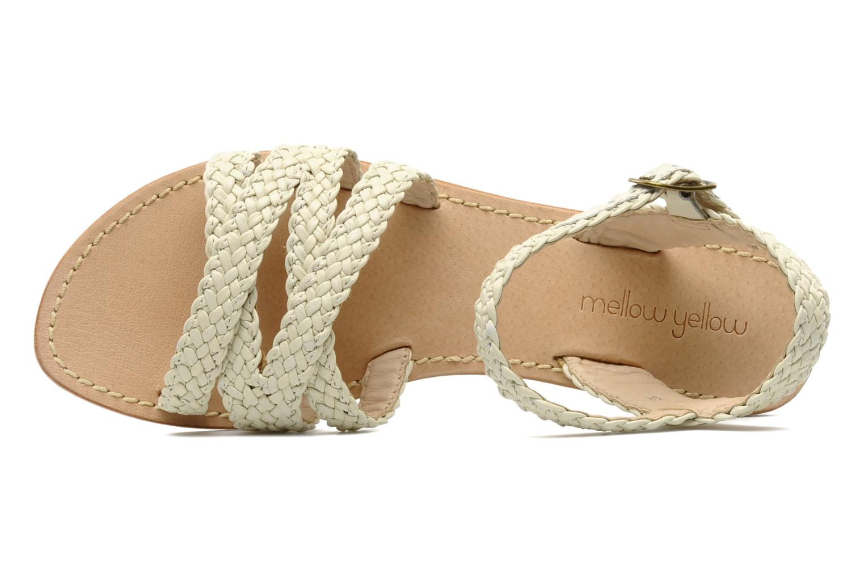 Sandales et nu-pieds Mellow Yellow Langlette Beige vue gauche