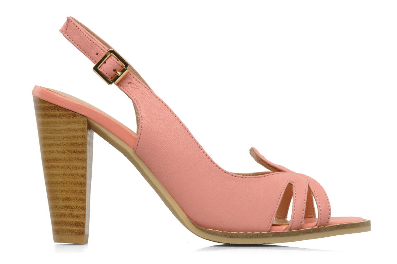 Sandals Mellow Yellow Lastou Pink back view