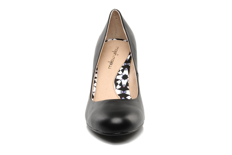 High heels Mellow Yellow Lescarpin Black model view