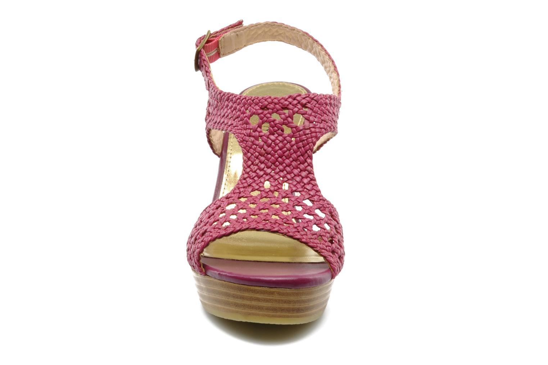 Sandales et nu-pieds Mellow Yellow Lexic Rose vue portées chaussures