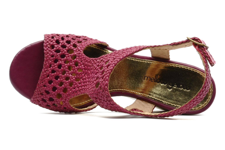 Sandales et nu-pieds Mellow Yellow Lexic Rose vue gauche