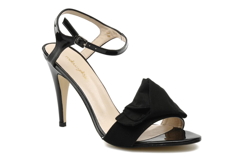 Sandales et nu-pieds Mellow Yellow Lilian Noir vue détail/paire