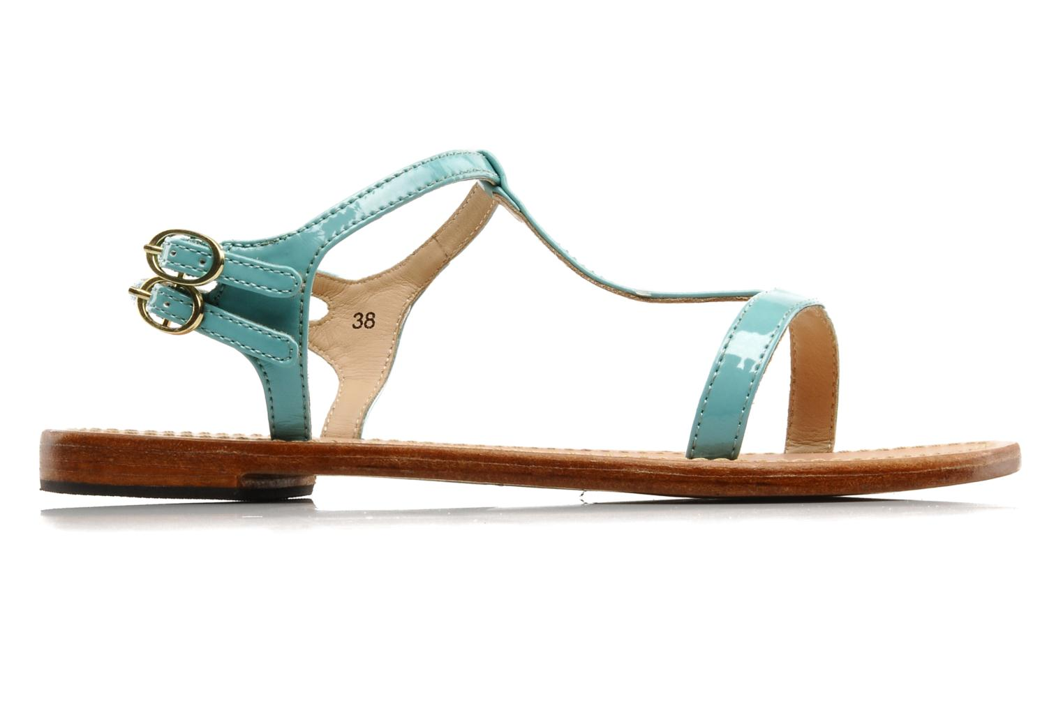 Sandals Mellow Yellow Link Blue back view