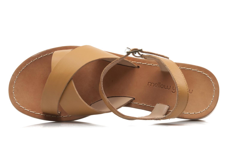 Sandales et nu-pieds Mellow Yellow Liraxan Marron vue gauche