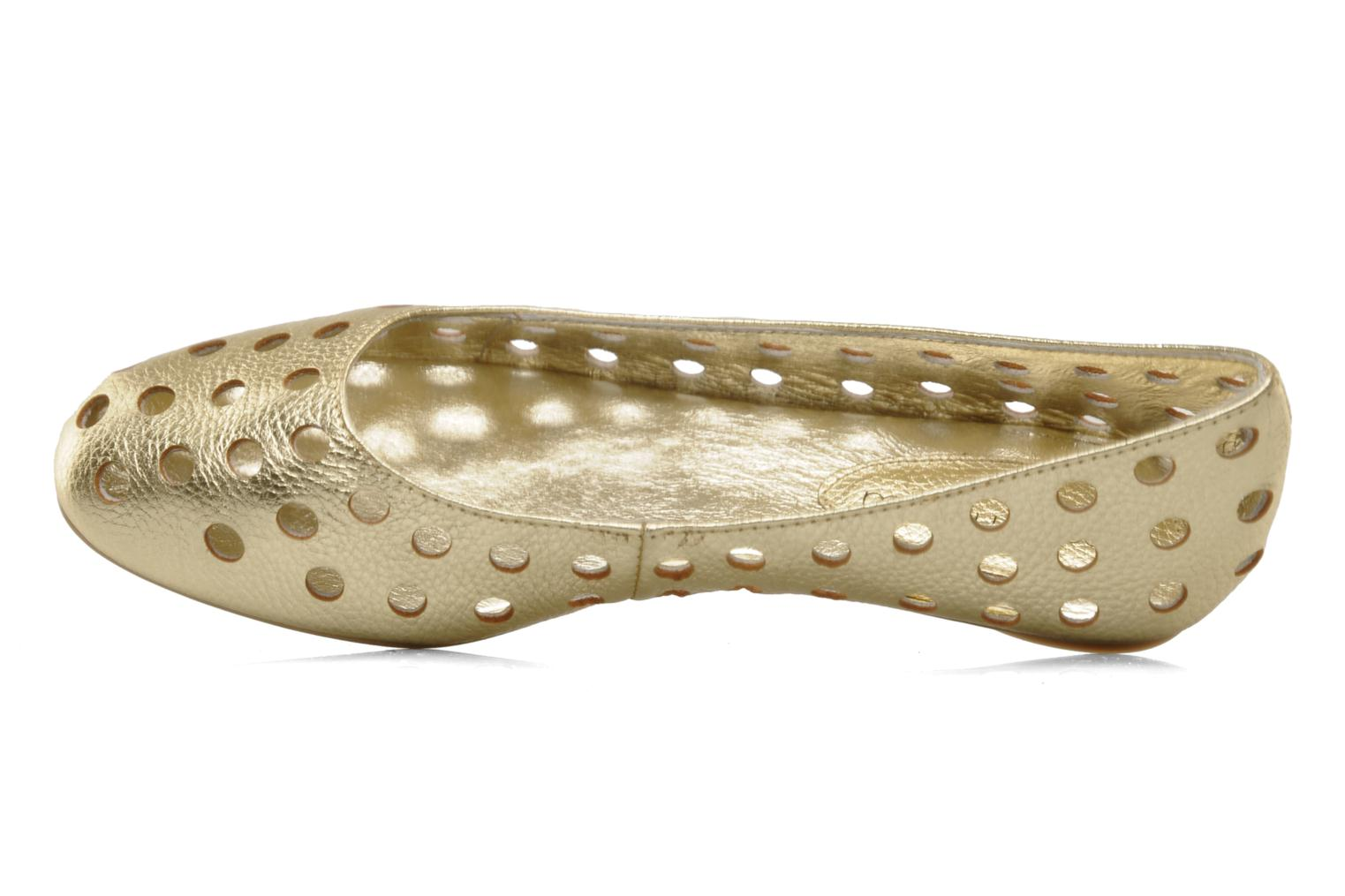 Ballet pumps Mellow Yellow Litten Bronze and Gold view from above