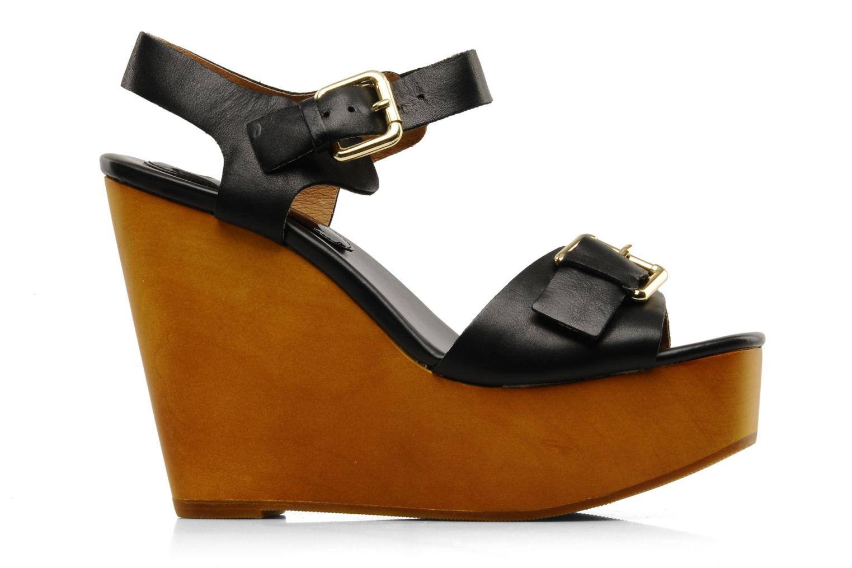 Sandales et nu-pieds Mellow Yellow Lupper Noir vue derrière