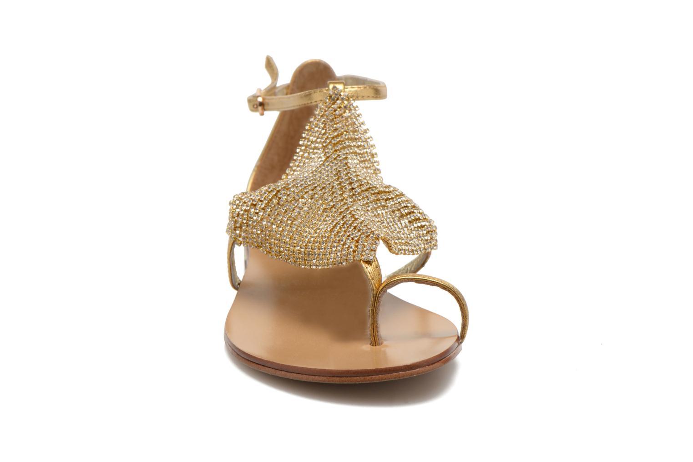 Sandalen Lola Cruz Balie gold/bronze schuhe getragen
