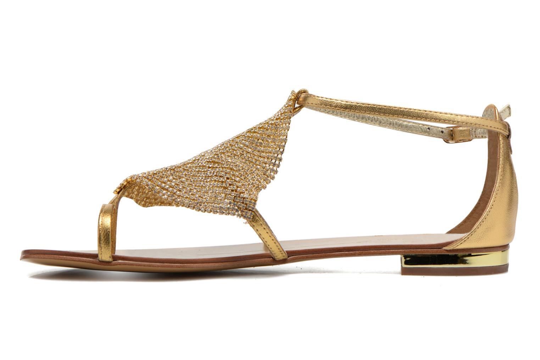 Sandalen Lola Cruz Balie gold/bronze ansicht von vorne