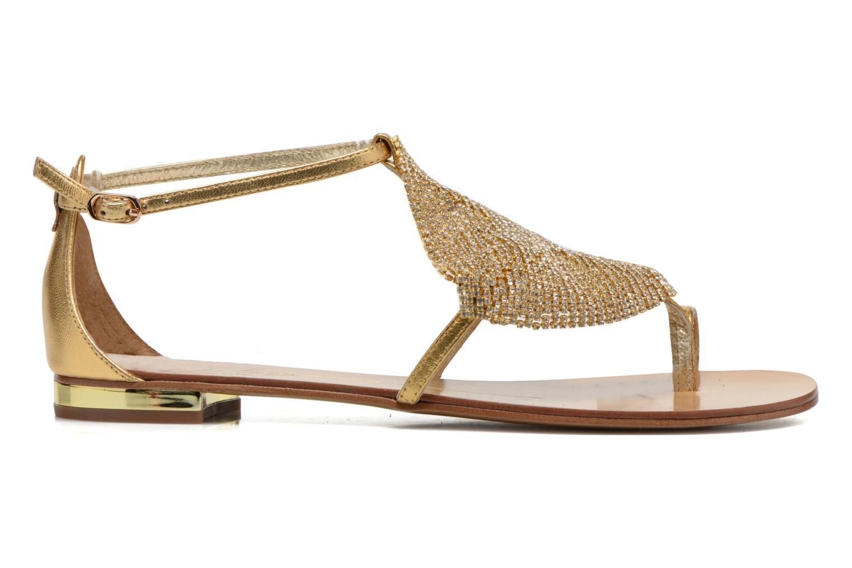 Sandalen Lola Cruz Balie gold/bronze ansicht von hinten