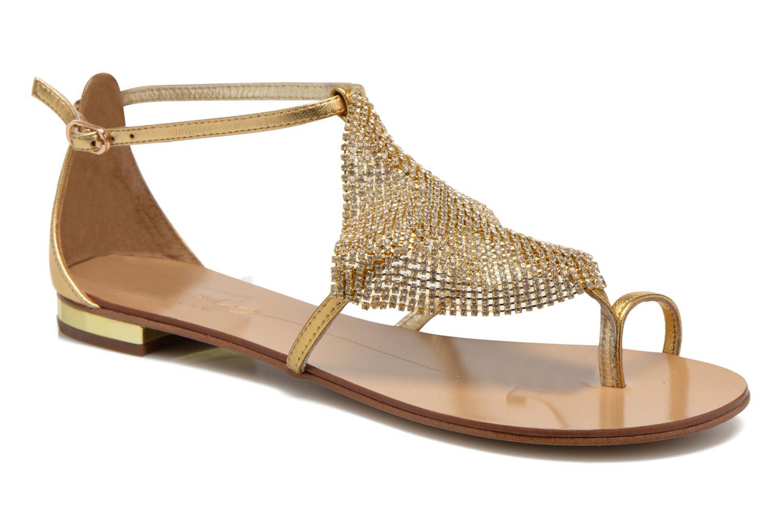 Sandalen Lola Cruz Balie gold/bronze detaillierte ansicht/modell