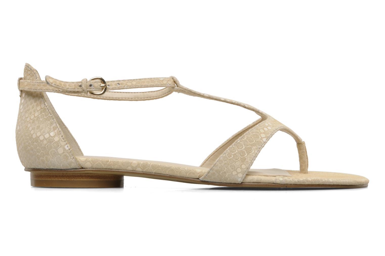Sandales et nu-pieds Nine West Couldbeluv Beige vue derrière
