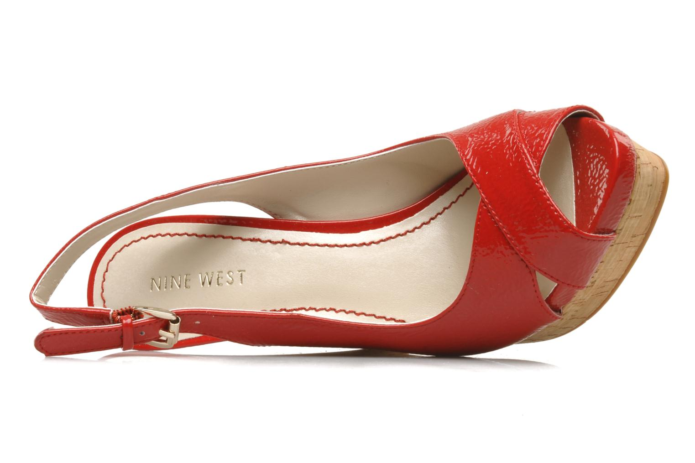 Sandales et nu-pieds Nine West Laffnplay 3 Rouge vue gauche